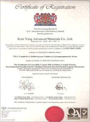 chứng chỉ iso9001:2008